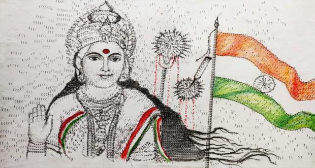3.AC Gurumurthy paintings