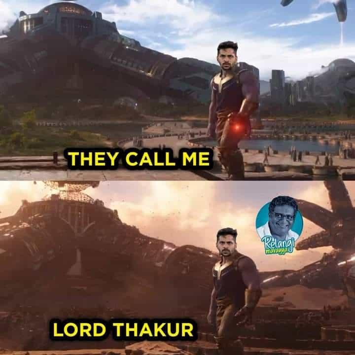 3.Shardul Thakur memes