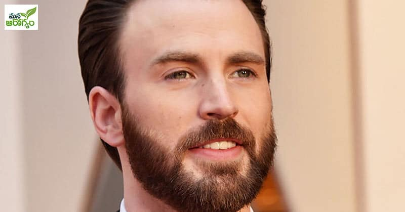 chris evans with beard