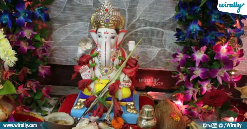 4.Vinayaka pooja