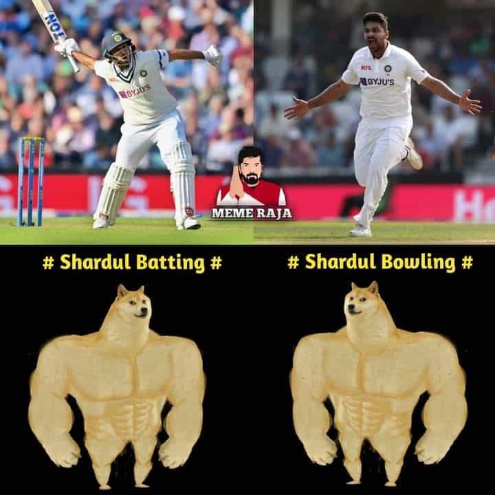 5.Shardul Thakur memes