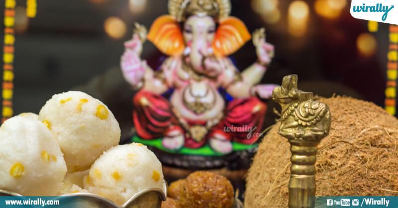 5.Vinayaka pooja