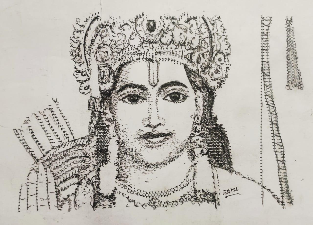 6.AC Gurumurthy paintings