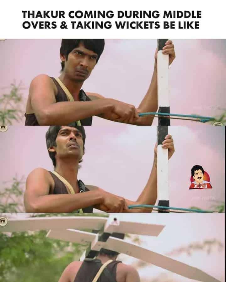 7.Shardul Thakur memes