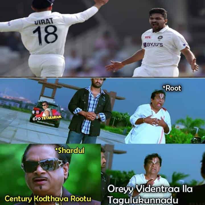 8.Shardul Thakur memes
