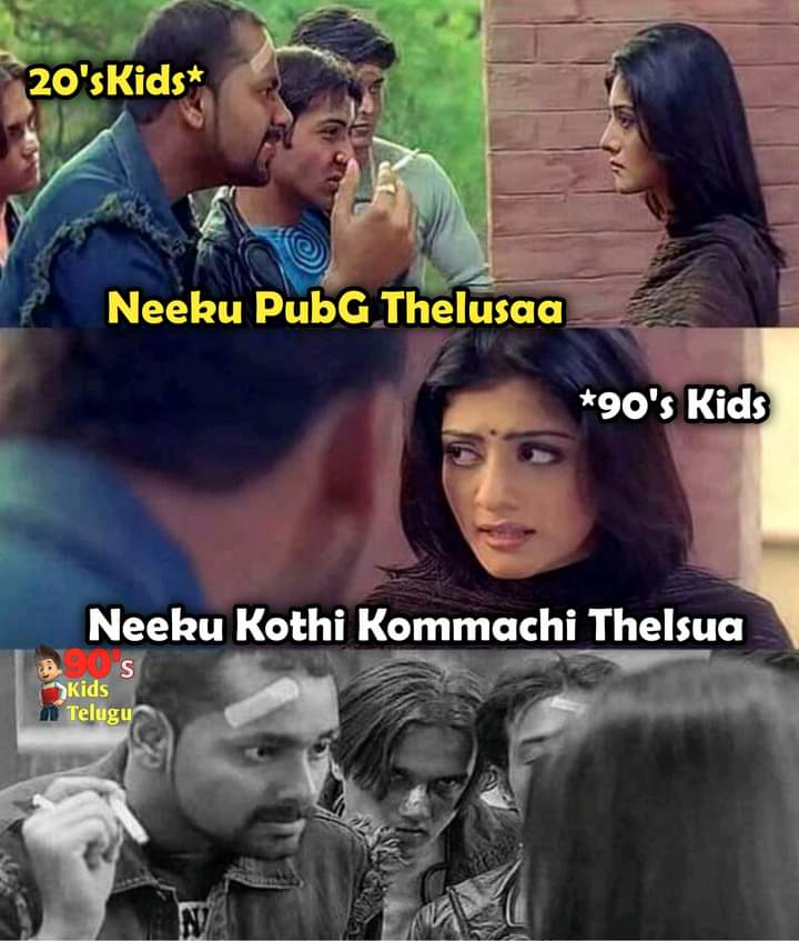 9.90's kids memes