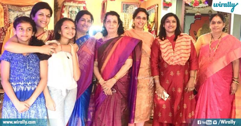 ANURADHA AND FAMILY