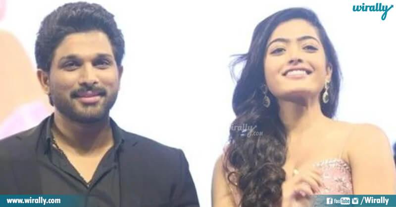 Allu Arjun & Rashmika Mandanna