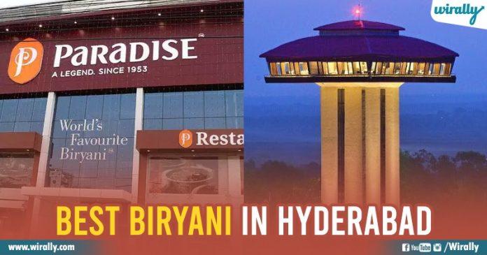 Best Birayani in Hyderabada