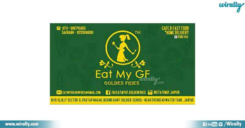 Eat My GF (golden fries)