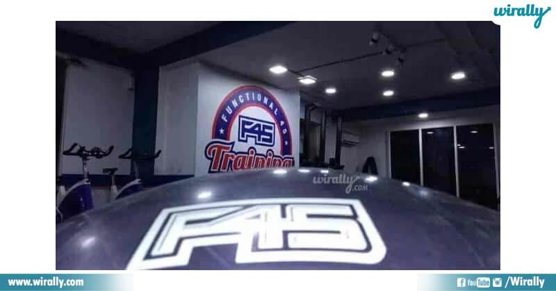 F45 TRAINING BASHEER BAGH