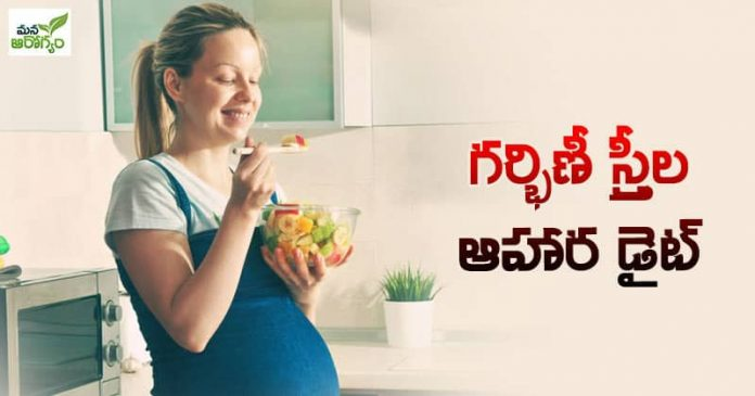 Diet of pregnant women