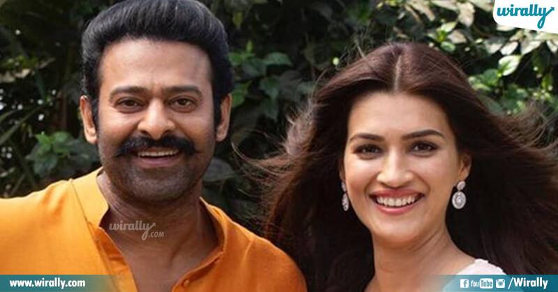 Prabhas & Kriti Sanon