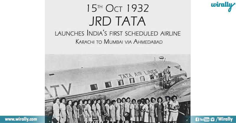 history of jrd tata