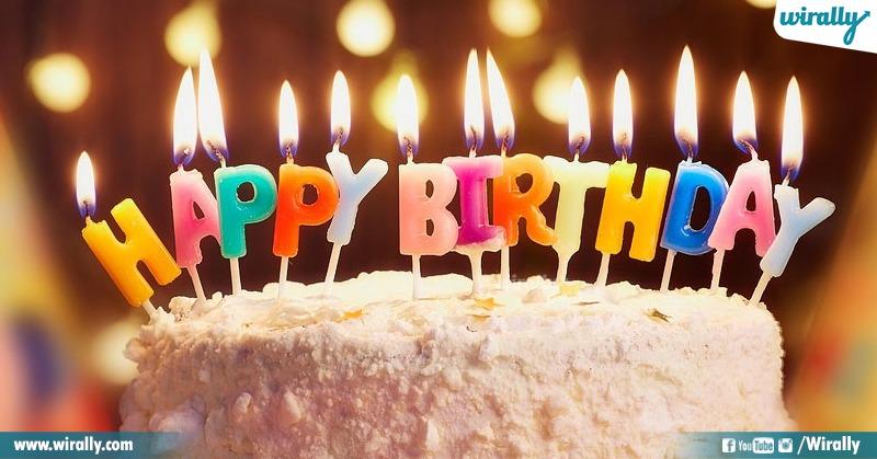 5.Birthday plans