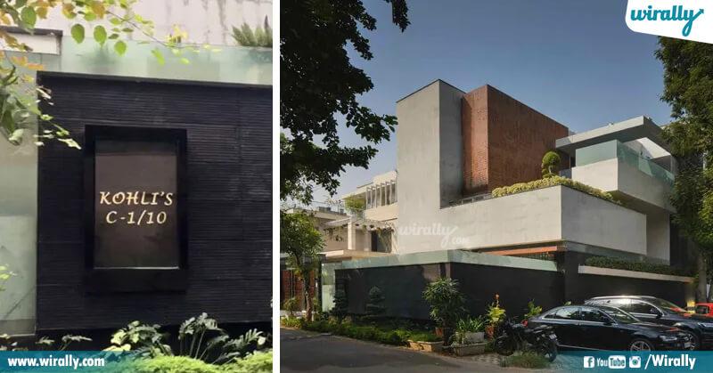 Virat Kohli house